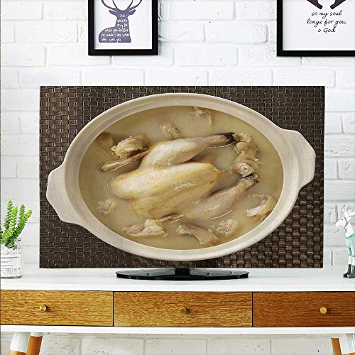 aolankaili Front Flip Top The Old Hen Pig's trotters Pot Casserole Front Flip Top W35 x H55 INCH/TV 60