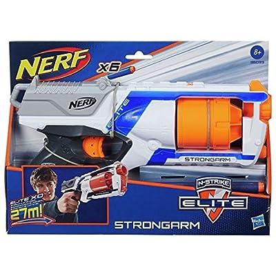 Nerf N-Strike Elite Strongarm Double Your Darts Blaster: Toys & Games