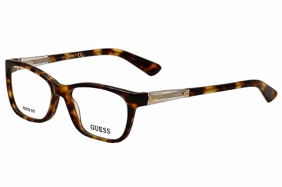 Guess Eyeglasses GU2561 2561 052 Havana Full Rim Optical Frame 50mm ...