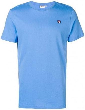 Fila - Camiseta Seamus tee SS MC para Hombre, Color Celeste 682393 Azul Celeste M: Amazon.es: Ropa y accesorios