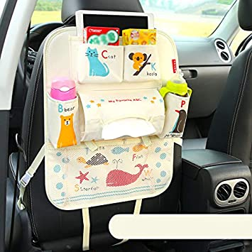 Strong-Willed Universal Baby Car Hanging Basket Storage Bag Car Seat Back Organizer With Tablet Holder Travel Storage Ipad Stroller Accessorie Strollers Accessories Activity & Gear