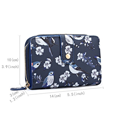 Bird Satchel Purse Changing Lulu Handbag Body Baby Cross Grey Bag Flower Miss Ladies Navy Bag 6682 Messegner zFtPOqCqwn