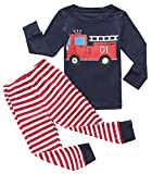 Fiream Boys Cotton Pajamas Sets 2 Piece Cartoon Toddler Sleepwears(18029,4-5YRS)