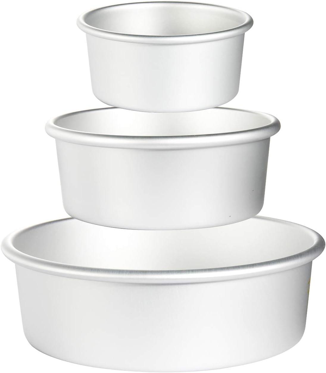 US  Cheesecake Aluminum Cake Pan Baking Tin Multiple Sizes