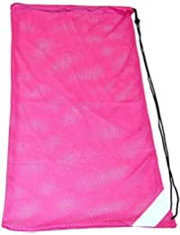 Amazon.com: Pink - Drawstring Bags / Gym Bags: Clothing, Shoes ...