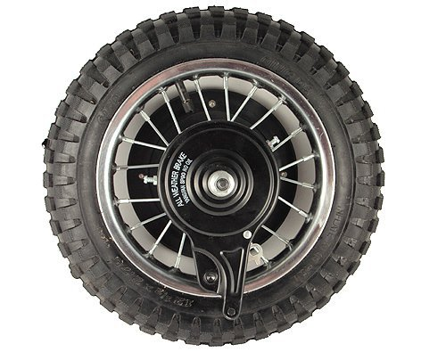 Razor MX350 (V23+) Rear Wheel Assembly - OEM Factory Original 12.5 x 2.75 Complete MX350 (V23+) and MX400 (V19+) Rear Wheel Replacement - Razor MX350 Parts - Part W15128040188 - by Precision Auto