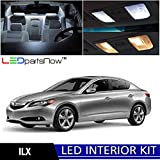 LEDpartsNOW Acura ILX 2013 & Up Xenon White Premium LED Interior Lights Package Kit (4 Pieces) + Install Tool