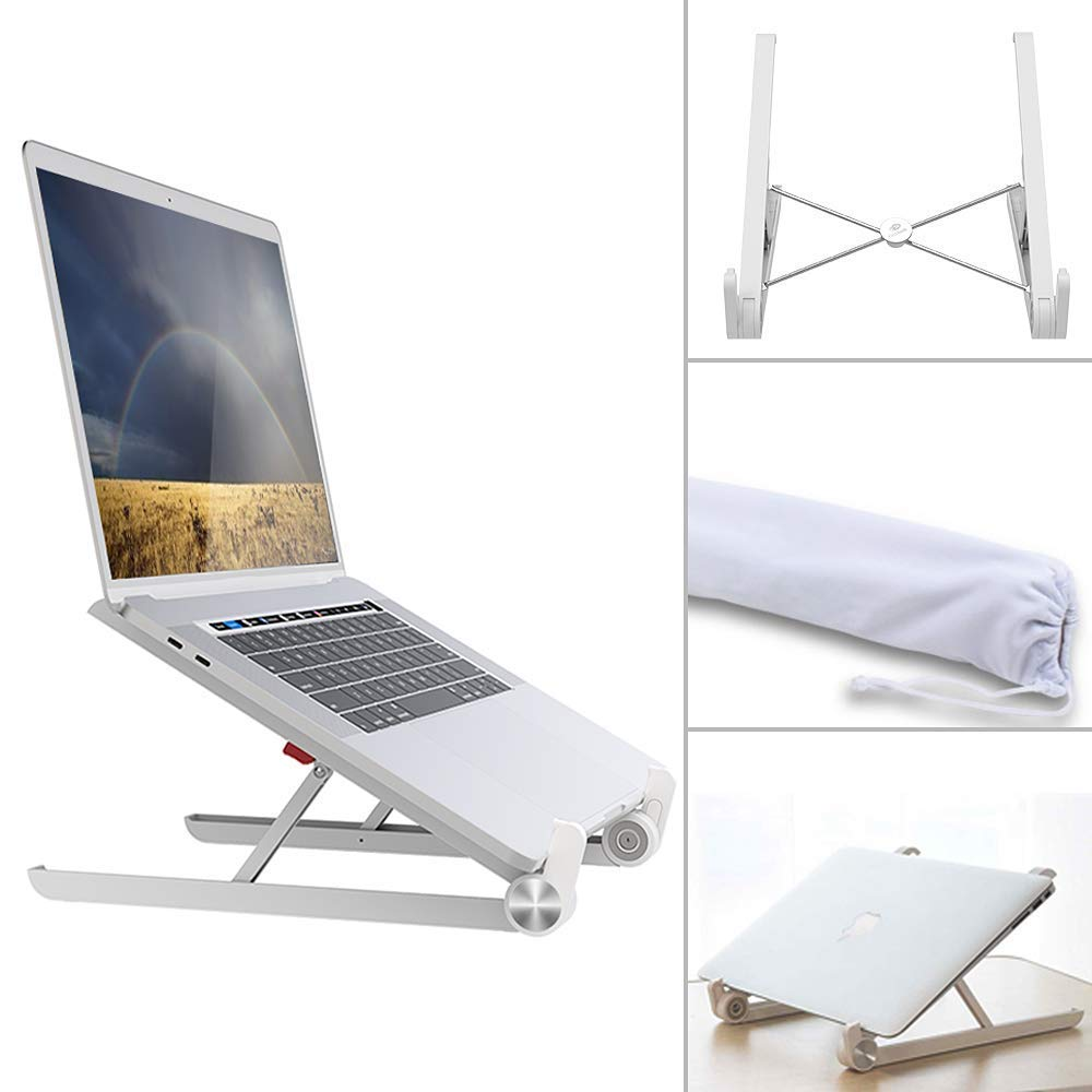 MacBook Pro Acer HP Any Notebook Between 9 to 17 Samsung Detachable Aluminum Cooling Computer Stand Holder Compatible with MacBook Air Chromebook Dell CHOETECH Laptop Stand