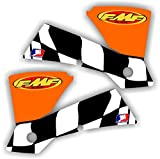 04 honda 125 accessories - KTM FMF Shroud Graphics Kit 01-04 125 200 250 380 400 450 520 525 Decal Sticker Sx Exc Graphic