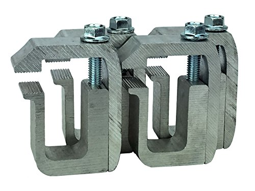 (GCI G-1 Clamp for Truck Cap / Camper Shell (set of 4). Made with Structural Aluminum to Ensure Quality and Strength.)