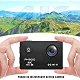 PNBOO PA-30 170 Degree Wide-Angle 4K 30fps 16MP Waterproof Action Camera with 2.0 Inch HD Ultra Display with Sony Sensor and WIFI