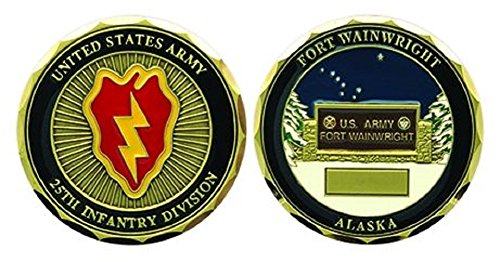 (Fort Wainwright 25th Infantry Division Challenge Coin )