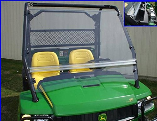 Windshield for John Deere Gator by Extreme Metal Products 10425