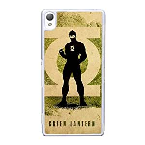 Sony Xperia Z3 Cell Phone Case White Green Lantern ST1YL6732238