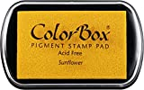 yellow stamp pad - Clearsnap ColorBox Pigment Inkpad, Sunflower