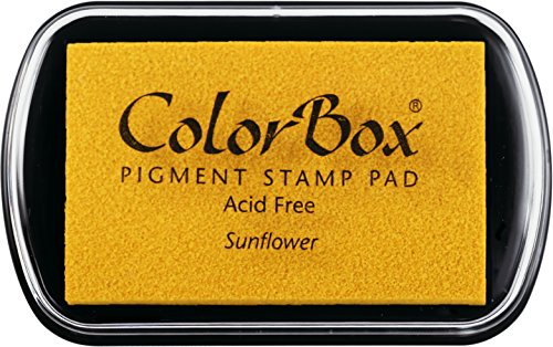 (ColorBox Classic Pigment Ink Pad, Full Size, Sunflower)