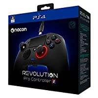 NACON Revolution Pro Controller V2 [Cableado] Gamepad PS4 Playstation 4 eSports Fighting Personalizable