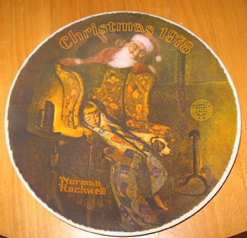 Norman Rockwell Christmas Plate - 4