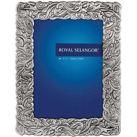 Royal Selangor Hand Finished Isthmus Home 2 Collection Pewter Photo Frame (5R) by Royal Selangor