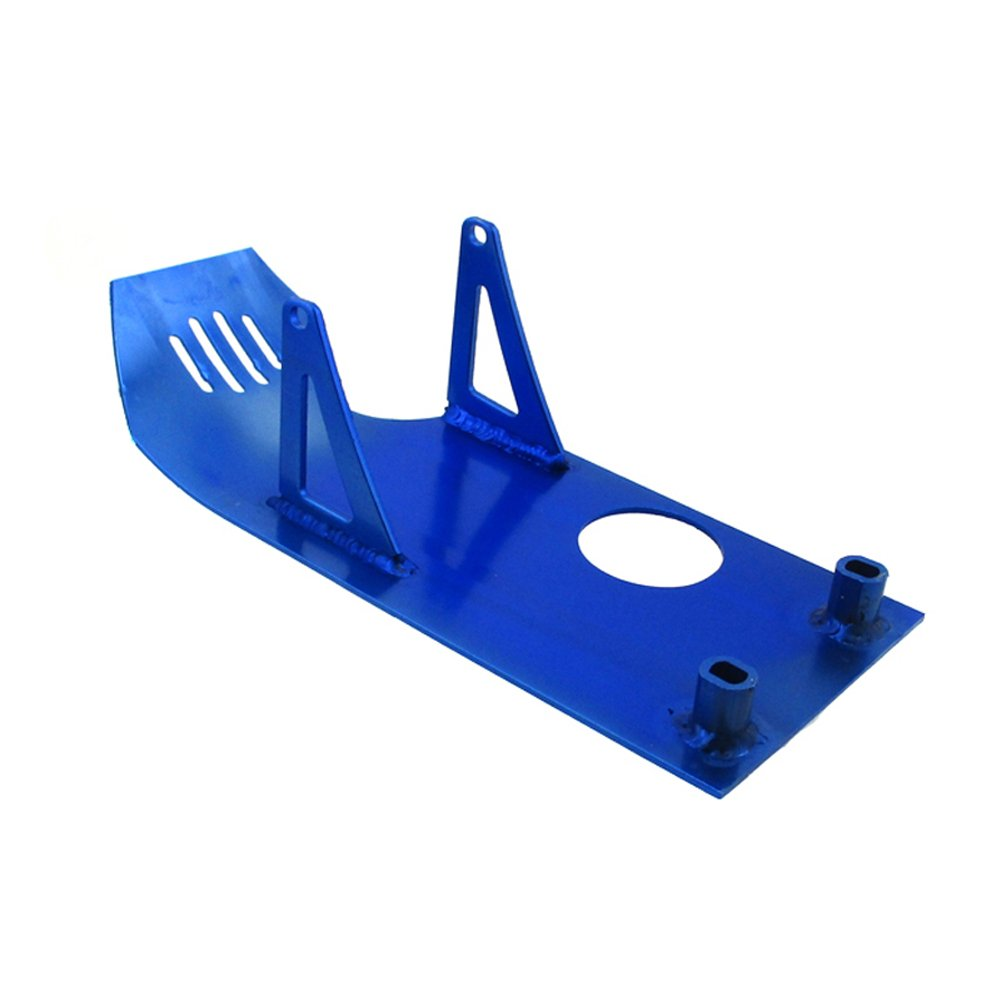 TC-Motor Blue Aluminum Engine Skid Plate For XR50 CRF50 Dirt Pit Bike 90cc 110cc 125cc 140cc Lifan YX SSR Thumpstar Coolster