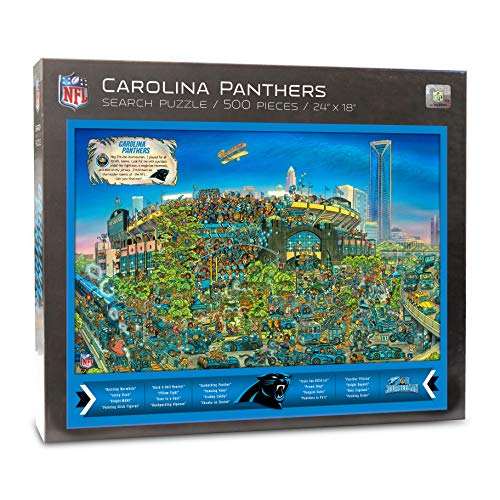 - NFL Carolina Panthers Joe Journeyman Puzzle - 500-piece