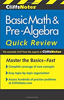 Master the mechanical aptitude and spatial relations test cliffsnotes basic math pre algebra quick review 2nd edition cliffs quick review fandeluxe Image collections