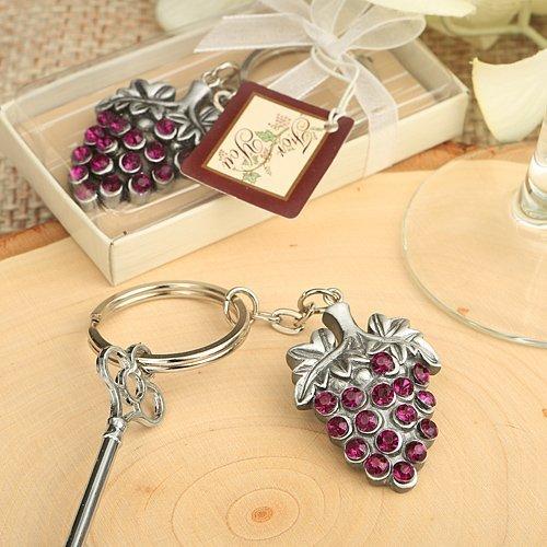 Vinyard collection Grape Vine Design Keychain, 24 by Fashioncraft