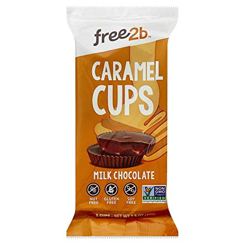 Sun Cups Milk Chocolate Caramel Cup, 1.5 Ounce (Pack of 12)