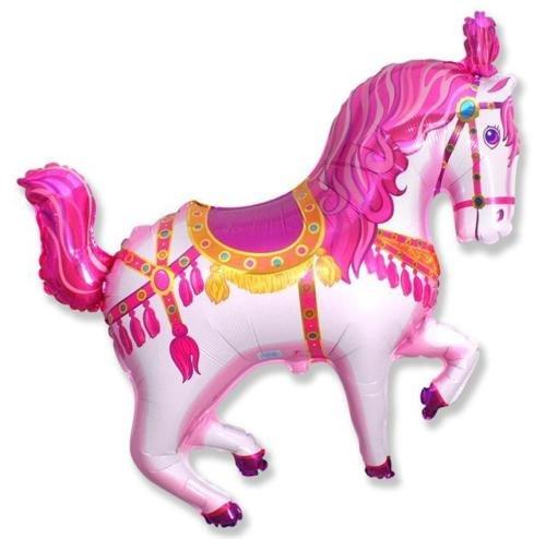 Rosa Carnaval/Circo caballo en forma de 26