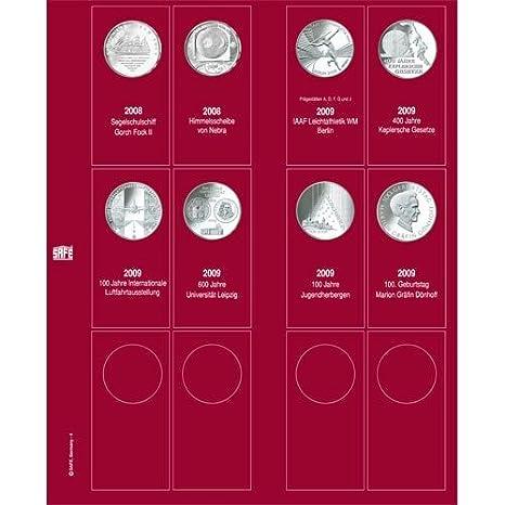Amazoncom Safe Ergänzungsblatt 7342 4 Für 10 Euro Münzen 2008 2010