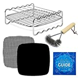 Air Fryer Accessories XL Grill Tools Compatible with Phillips Walita Airfryer HD9240 HD9630 HD9654 HD9650, Power AirFryer Oven, NuWave Brio, Cozyna Concord +More L XL XXL Deep Fryers | by Infraovens