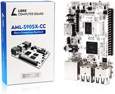Libre Computer Board AML-S905X-CC (Le Potato) 1GB 64-bit Mini