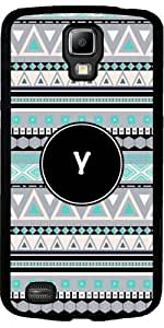 Case for Samsung Galaxy S4 Active i9295 - Monogram - tribal pattern *Y* by ruishername