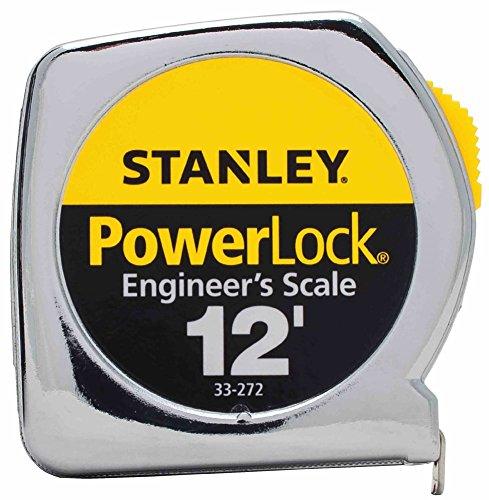 NIB 6/PACK STANLEY TOOLS POWERLOCK 33-272 12FTX1/2IN TAPE RULE POWERLOCK by Powerlock