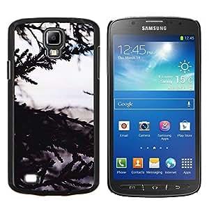 YiPhone /// Prima de resorte delgada de la cubierta del caso de Shell Armor - Árbol Naturaleza vistas al mar - Samsung Galaxy S4 Active i9295