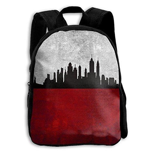 Seattle Skyline Outline Unique Outdoor Shoulders Bag Fabric Backpack Multipurpose Daypacks For - Seattle Sunglasses Skyline