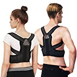 Posture Corrector Fully Adjustable Correction Belt Improves Posture for Men Women Breathable Comfort Shoulder Clavicle Support Back Brace Relieve Back Pain Straighten Posture