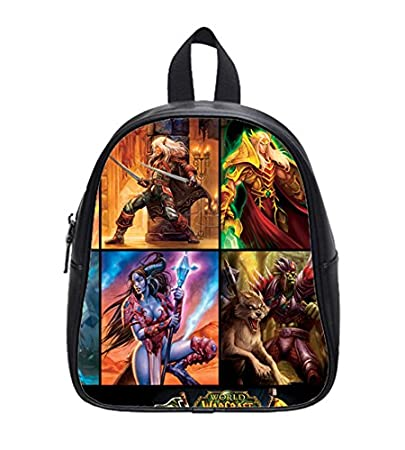 Image Unavailable. Image not available for. Color  Hot Sale World of  Warcraft Custom Kids School Backpack ... 4bab85648ef7b