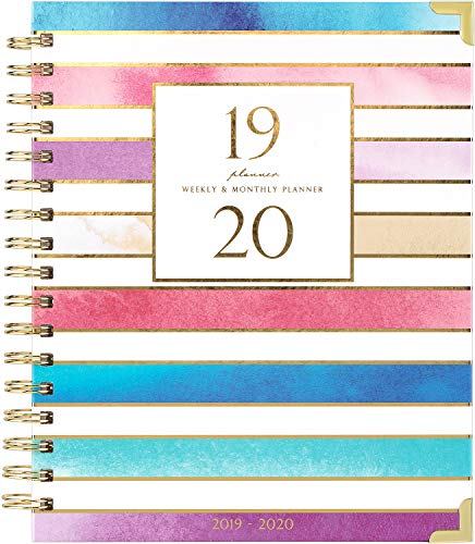 2019-2020 Planner - Academic Weekly & Monthly Planner, Thick Paper with Colorful Tabs - 9.4