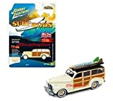 diecast street rod - NEW DIECAST TOYS CAR JOHNNY LIGHTNING 1:64 STREET FREAKS SURF RODS 1941 CHEVROLET SPECIAL DELUXE WOODY MIJO EXCLUSIVES JLCP7021-24