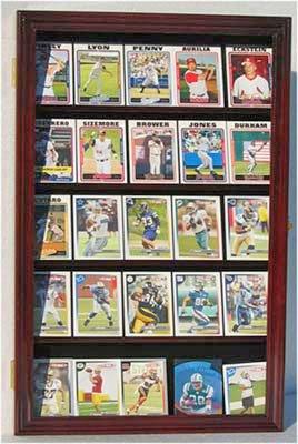 Display Case For Football Baseball Hockey Basketball Sports Trading Cards Cc01 Mah