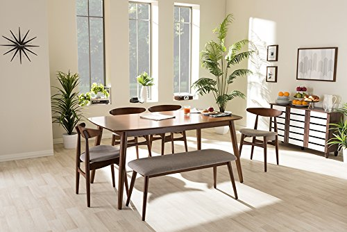 (Flora 6 Piece Dining Set in Medium)
