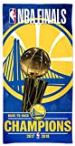 McArthur Golden State Warriors Back to Back 2017-2018 NBA Champions Beach Towel 30 X 60 Inch