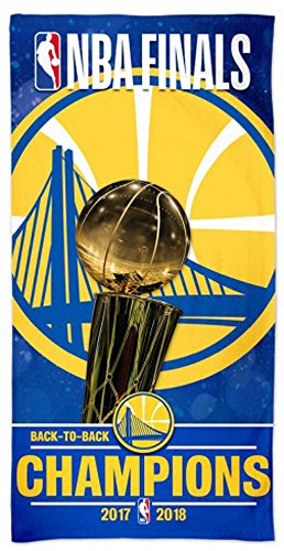 McArthur Golden State Warriors Back to Back 2017-2018 NBA Champions Beach Towel 30 X 60 Inch (Golden State Warriors Pool)
