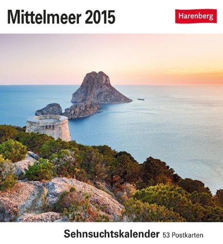 Mittelmeer Sehnsuchtskalender 2015: Sehnsuchtskalender, 53 Postkarten