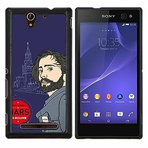 Queen Pattern - FOR Sony Xperia C3 D2533 - 30 Seconds Leto - Cubierta del caso de impacto con el patr???¡¯???€????€?????n Art Designs