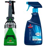 Bissell 86T3/86T3Q Big Green Deep Cleaning Professional Grade Carpet Cleaner Machine and BISSELL Stain Pretreat...