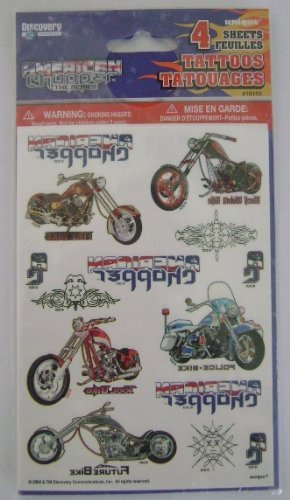 AMERICAN CHOPPER TATTOOS FOR CHILDREN TEMPORARY