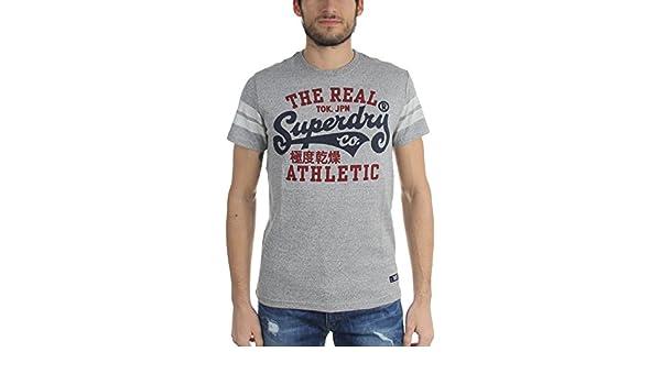 0b0787d0 Amazon.com: Superdry - Mens Real Tokyo T-Shirt, Size: Medium, Color: Grit  Grey Jasper: Clothing