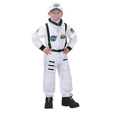 Amazon.com: Underwraps disfraz infantil de astronauta, S (4 ...